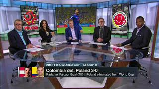 Colombia vs Poland 3 0 Post Game Discussion ESPN FC Worldcup 2018