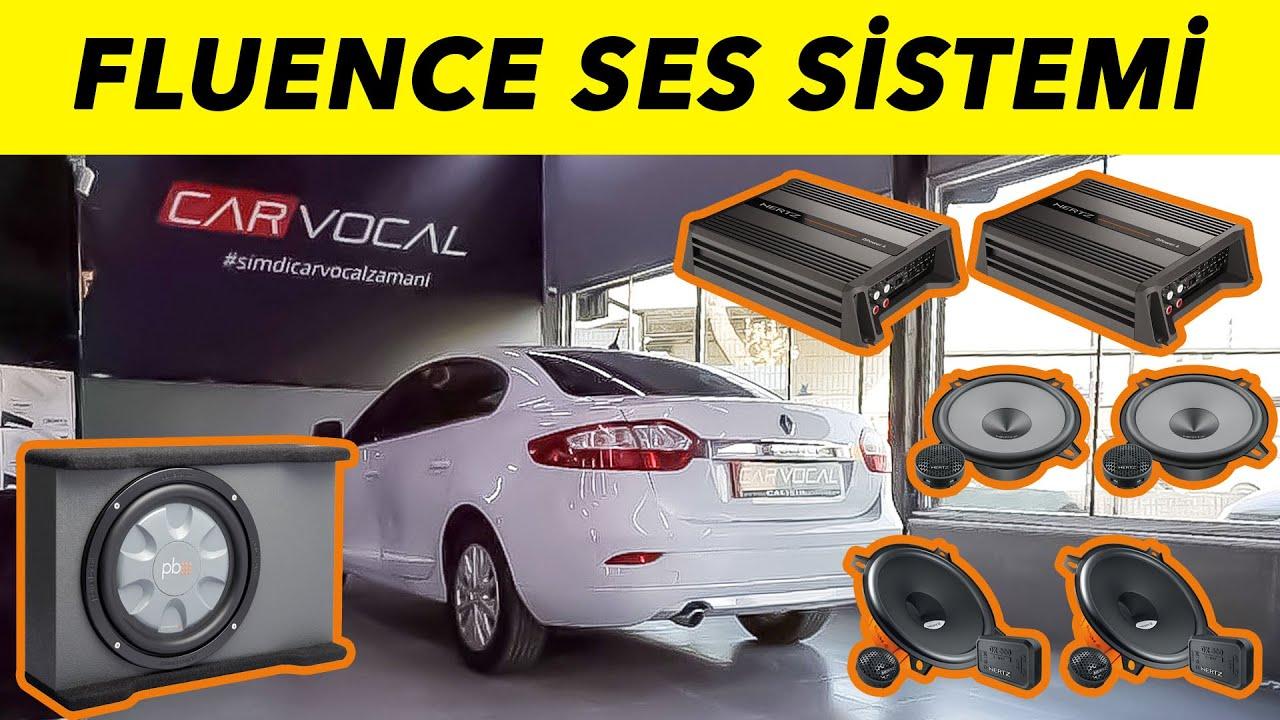 Renault Fluence Hertz Ses Sistemi