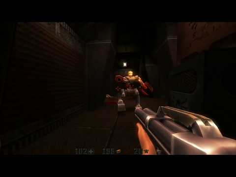 Let's Play Quake 2 MP1 The Reckoning 06: Heading to the Moon Kinda