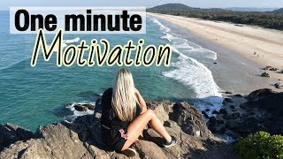 ONE MINUTE MOTIVATION | It's okay to not be okay.