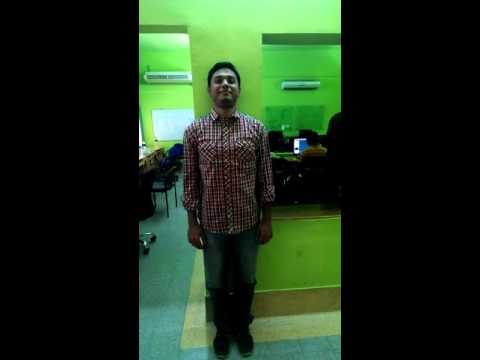 Bangladeshi Software Engineer Office workout