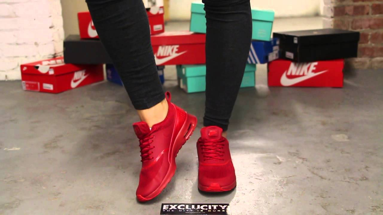 women nike air max red