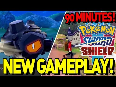 new-gameplay-(first-90-minutes)-pokemon-sword-and-shield-gameplay-reviews!
