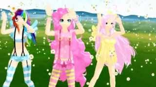 Repeat youtube video [MMD] Caramell Dansen Para Para ver. - [My Little Pony]