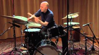 Joey Baron solo - Roulette TV, NYC, NY, 2009-12-13
