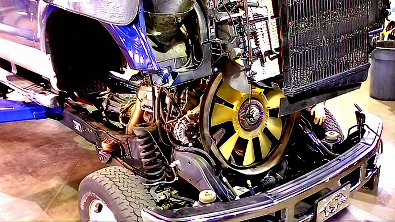 Ford Super Duty Cab Removal Amp Installation Part