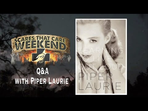 Piper Laurie and Michael Stever Q&A   Scares That Care 2015