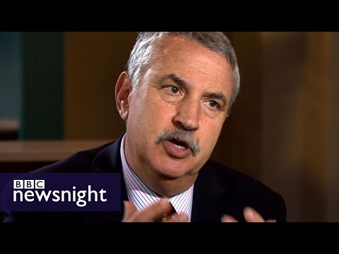 Thomas Friedman: Trump 'will suck your brains out' - BBC Newsnight