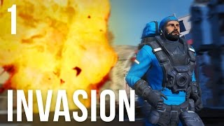 THE INVASION! | Space Engineers Survival Ep. 1
