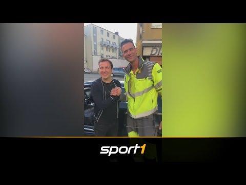 WM-Pokal im Auto von Mario Götze: ADAC knackt Luxus-Schlitten | SPORT1