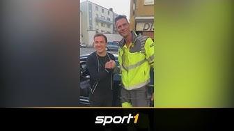 WM-Pokal im Auto von Mario Götze: ADAC knackt Luxus-Schlitten   SPORT1