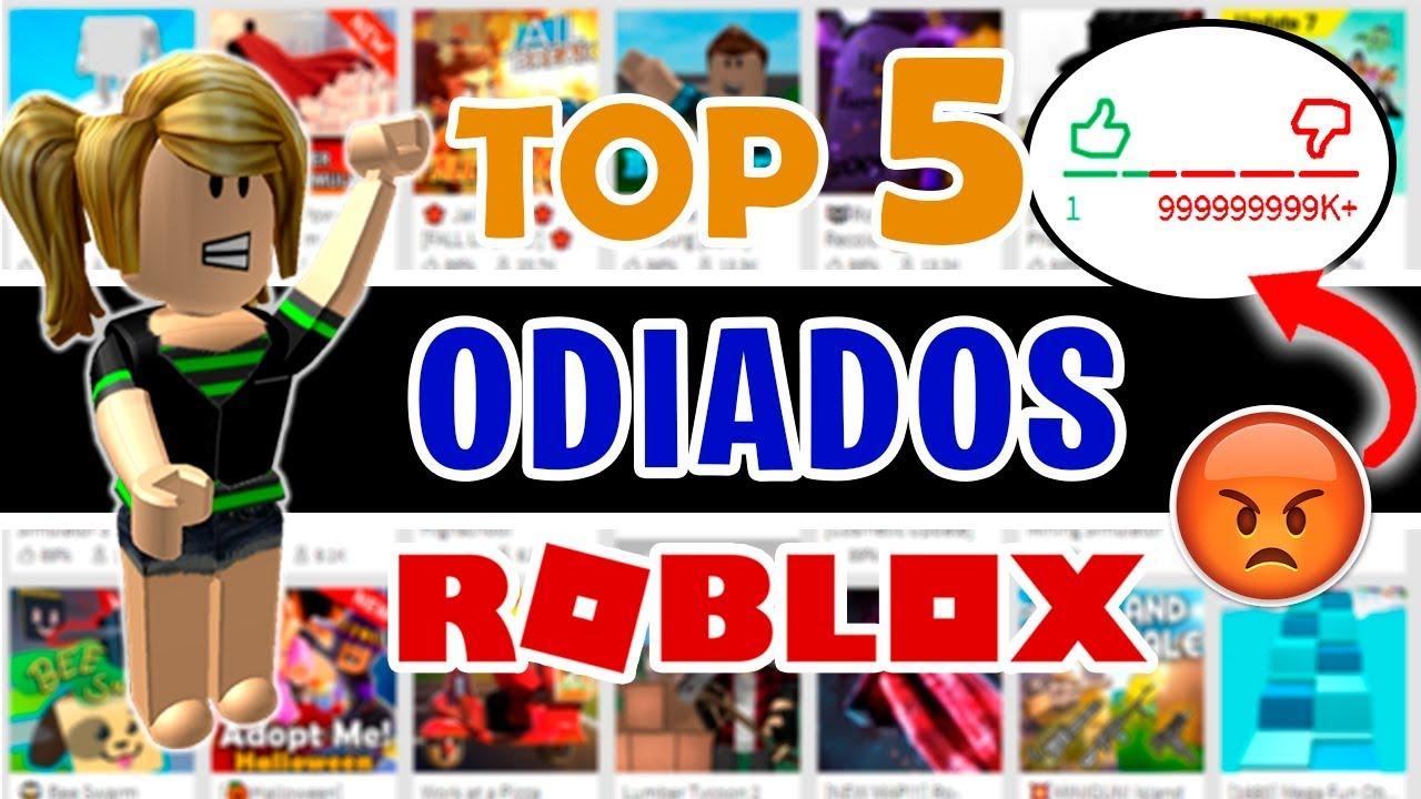 Los Juegos Más Odiados Con Más Dislikes De Roblox Top 5 - if roblox was realistic pizza youtube