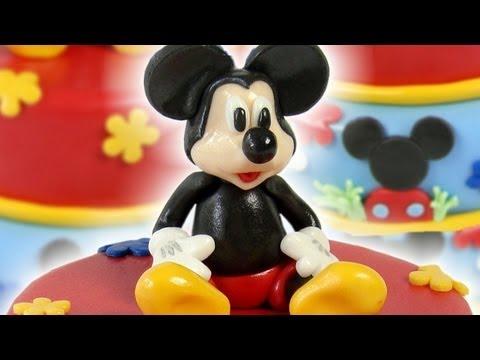 Mickey Cake Topper Figurka Na Dort Mickey Youtube