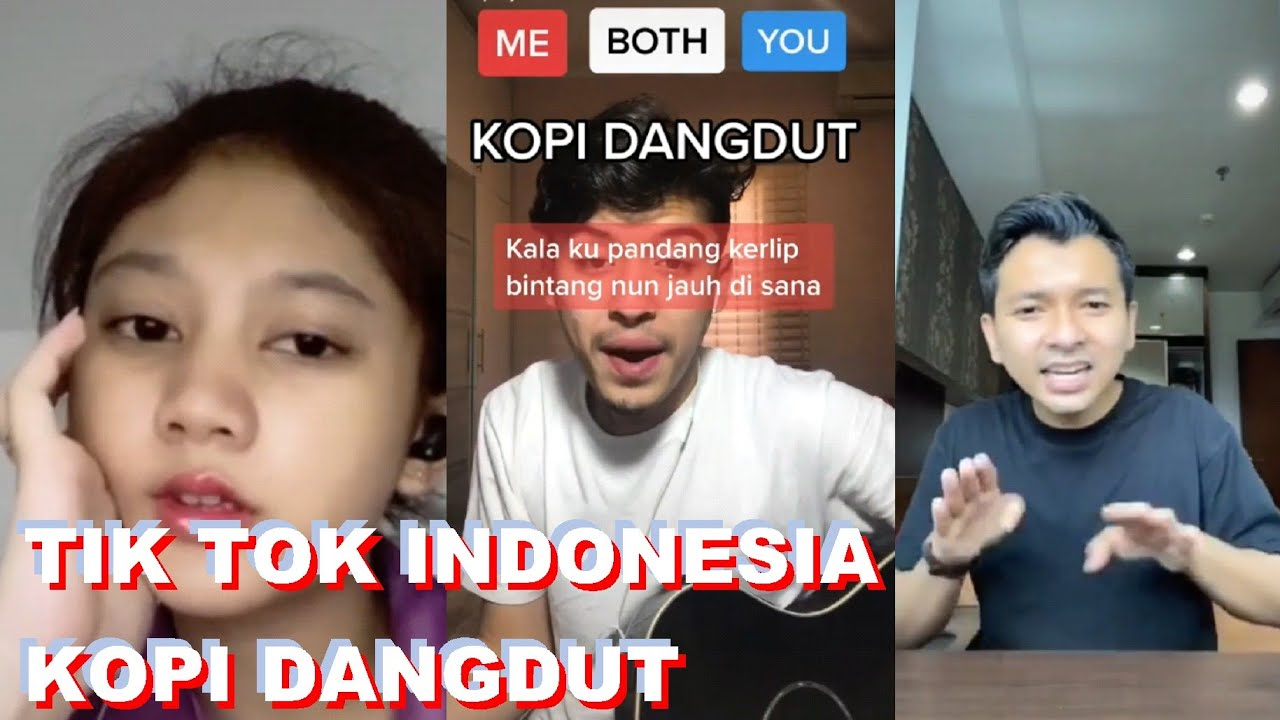 Kopi Dangdut Tiktok Kompilasi Cover Lagu Kopi Dangdut Tik Tok Indonesia 2020 Youtube