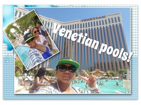 First time at The Venetian pool/ SO MANY?