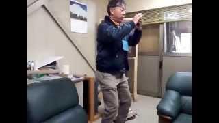 20秒で出来る!『とさ犬』先生のウエストを引き締めるダイエット運動.