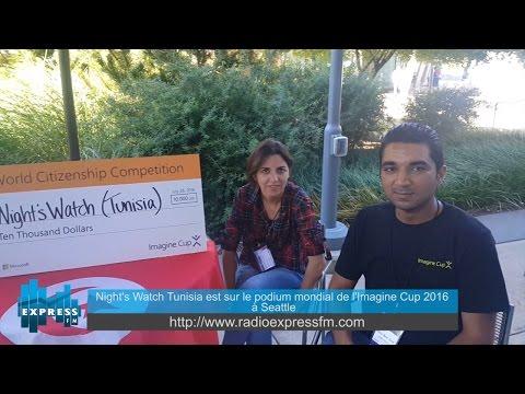 Night's Watch Tunisia est sur le podium mondial de l'Imagine Cup 2016