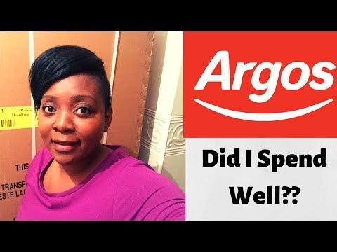 WHAT I USED MY ARGOS VOUCHERS | NEW HOME UNBOXING ONLINE GOODS #GREATSTART #NEWBEGINNING #NEWHOME