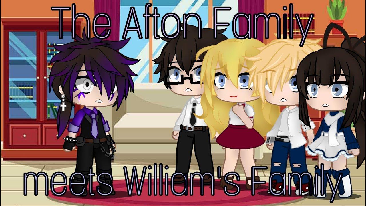 Download The Aftons meets William's family /FNAF / Gacha Club / gacha_duvar