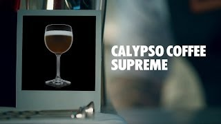 Calypso Coffee Supreme Drink Recipe - How To Mix
