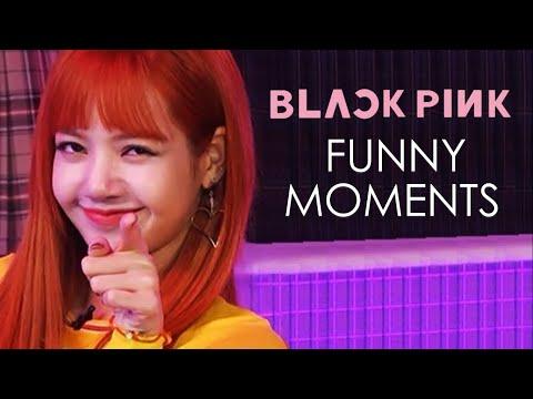 blackpink funny moments