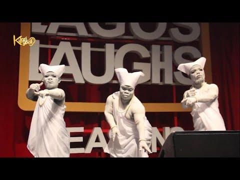 The Lagos 'Three Wise Men' Shows off 'Shaku Shaku' Dance Move