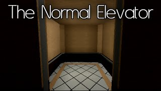 THIS IS NORMAL?!? | Roblox | The Normal Elevator