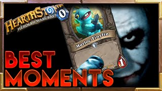 One of Hearthstone SparkTV's most viewed videos: Hearthstone | Best Moments 8