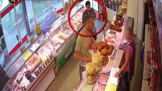 Хитрые воры в магазине Кишинева