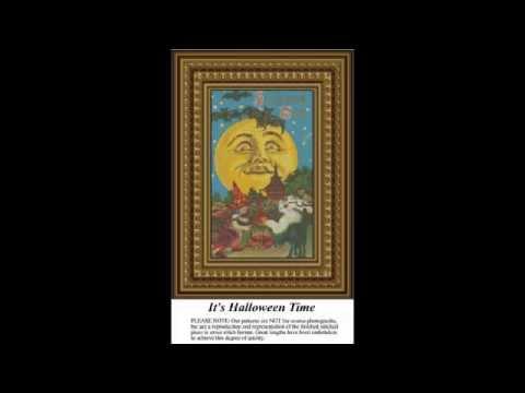 Halloween Counted Cross Stitch Patterns & Kits 2013