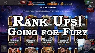 Rank Ups - Prep for the Nick Fury Grind   Marvel Contest of Champions