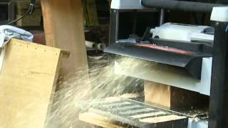 Woodworking - The Heirloom Custom Cabinet-planer Phase Part-2