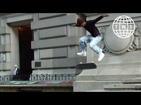 Carl Aikens, CWC Part   NYC Skateboarding