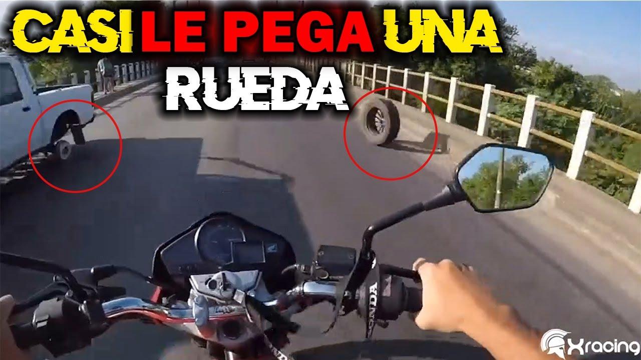 CASI LO HACE MIERDA UNA RUEDA VOLADORA | SUSTOS DE MOTOS | LA SERIE #18