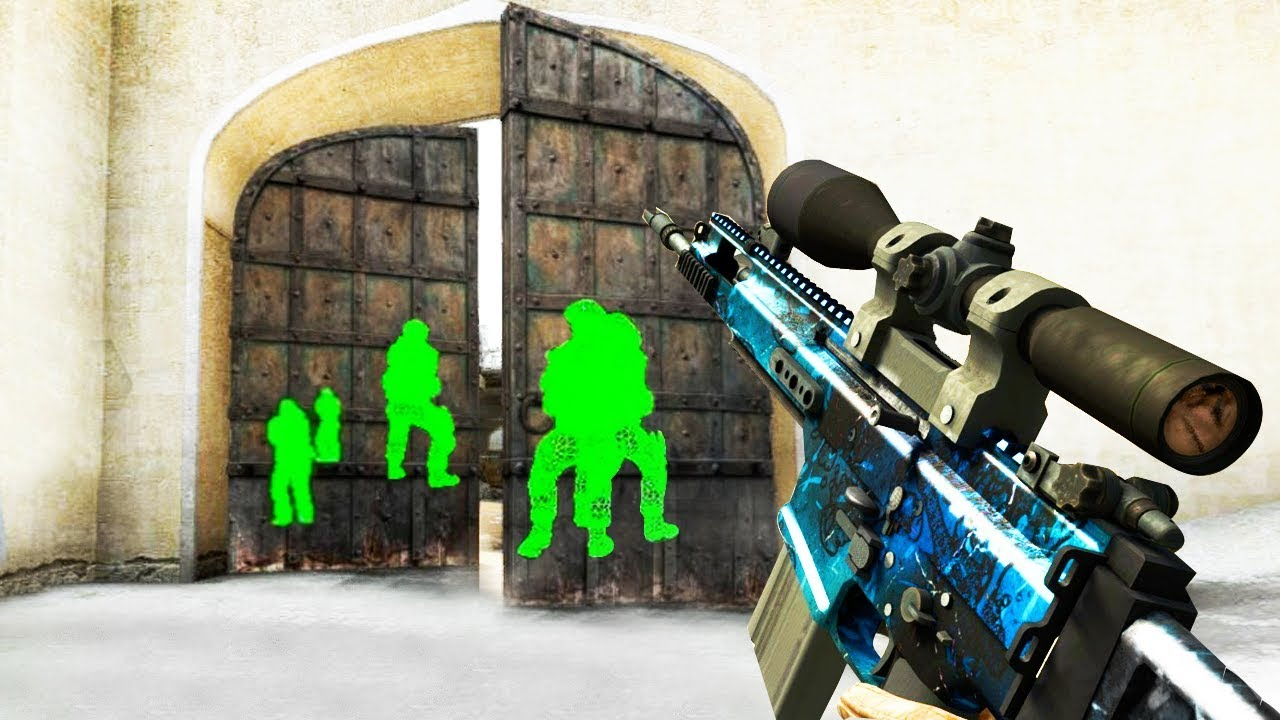 ILLEGAL HACKS IN CS:GO (Counter-Strike Global Offensive Funny Moments) thumbnail