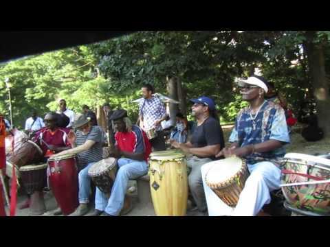 Prospect Park Drummers Grove  July 16, 2017