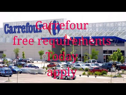 Vacancies In Carrefour At Kuwait Latest Updates 2018 Youtube