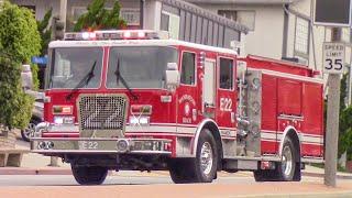 Manhattan Beach Fire Dept. Engine 22