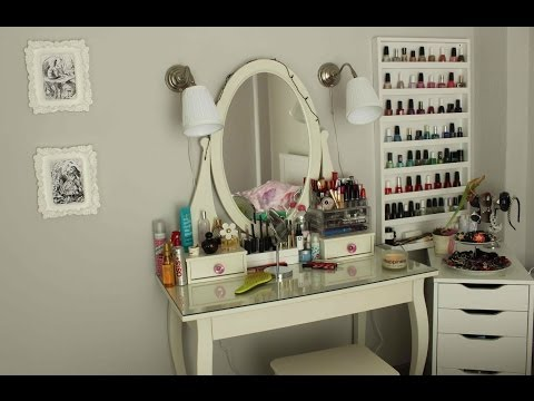 Vanity Tour ♡ Make Up Collection & Storage