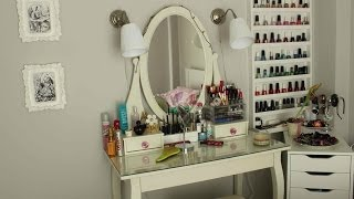 Vanity Tour ♡ Make-up Collection & Storage Thumbnail