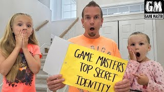 Game Master Top Secret Identity Face Reveal! Who is the Real Game Master?