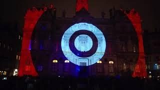 Fête des lumières Lyon 2017 -- Place des Terreaux