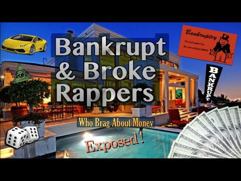 EXPOSED! Rappers Who Brag About Money Are Actually Broke and Bankrupt