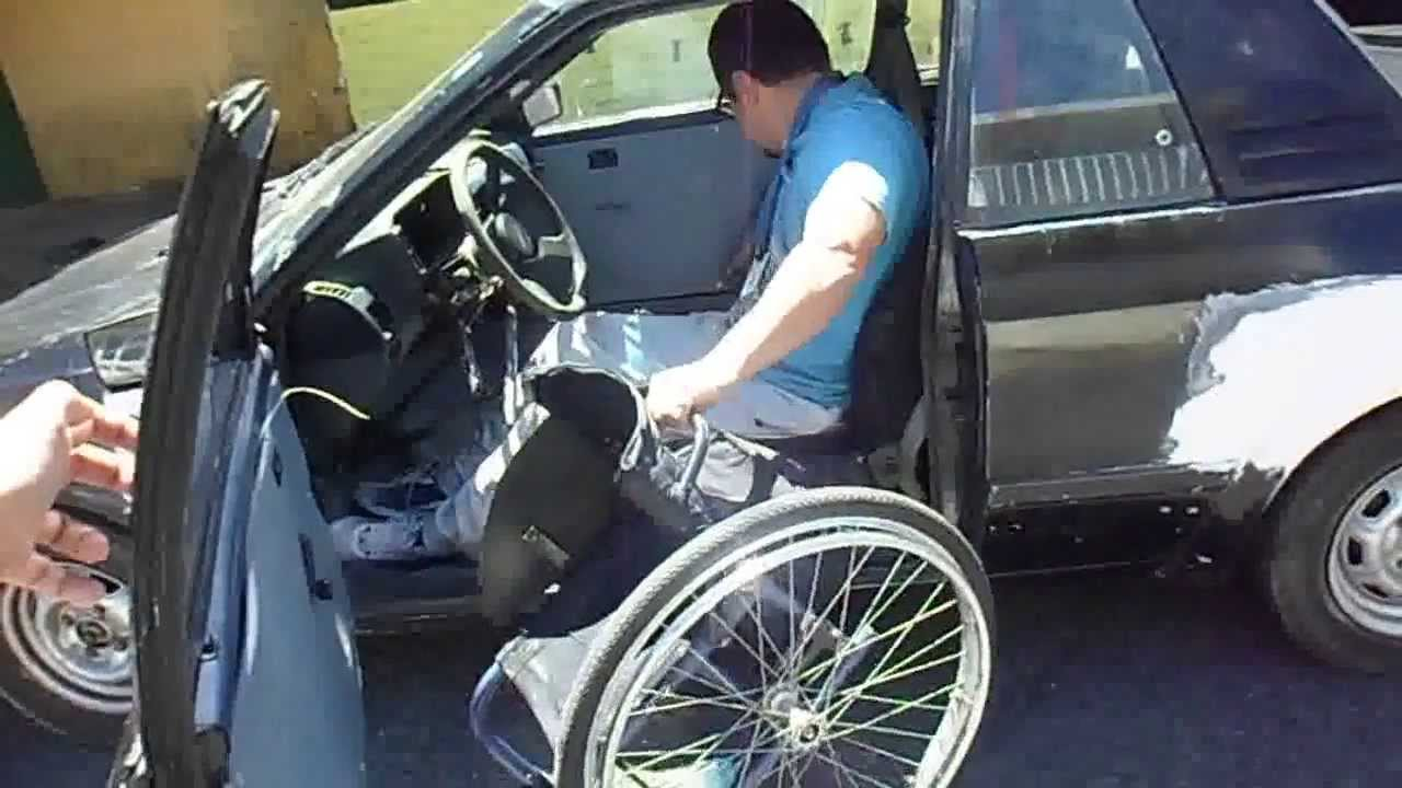 Traslado silla de ruedas al auto youtube for Coche con silla de auto