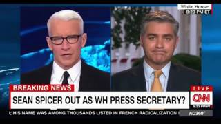 Sean Spicer out Laura Ingraham in as Trump's Press Secretary? CNN AC 360 Panel discussion