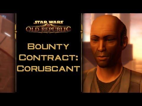 SWTOR: Bounty Contract Coruscant [incl. kill & capture ending]