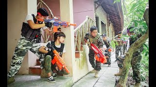 LTT Nerf War : Special police SEAL X Warriors Nerf Guns Fight Attack Criminal Group