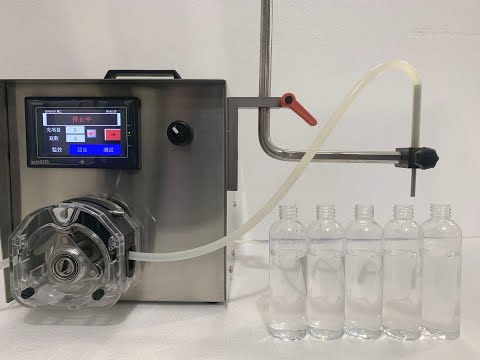 Tabletop Peristaltic Pump Liquid Filling Machine FT-100