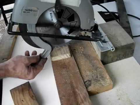 C mo hacer una ingletadora casera con una sierra circular for Como hacer una piscina de madera casera