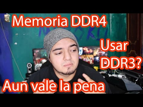 Memorias RAM DDR4 ¿Aun valen la pena las memoria DDR3?